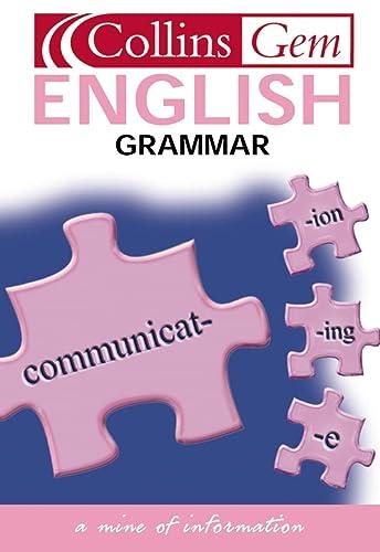 9780007171026: English Grammar (Collins GEM)
