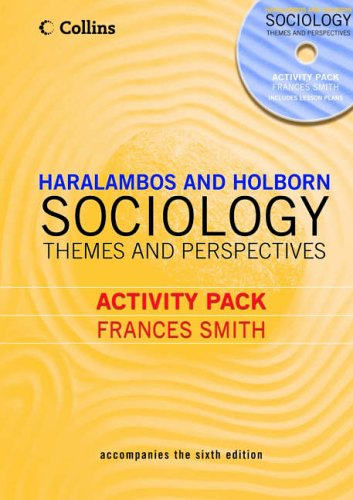 9780007171101: Sociology Themes and Perspectives Activity Pack