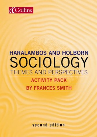 9780007171101: Sociology Themes and Perspectives: Activity Pack