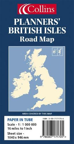 9780007171705: Planners' British Isles Road Map
