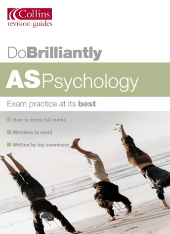 9780007171767: Do Brilliantly At - AS Psychology