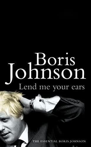 9780007172245: Lend Me Your Ears