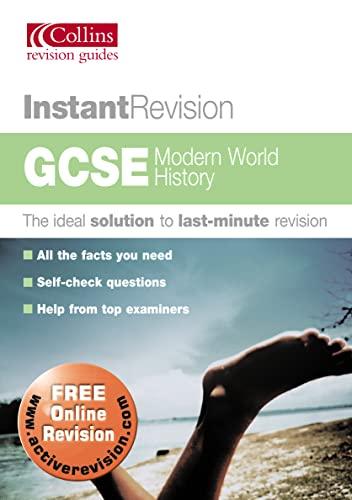 9780007172641: Instant Revision - GCSE Modern World History