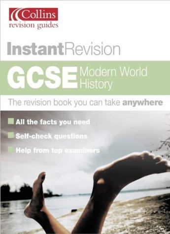 9780007172641: GCSE Modern World History (Instant Revision)
