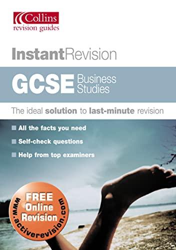 9780007172658: GCSE Business Studies (Instant Revision)