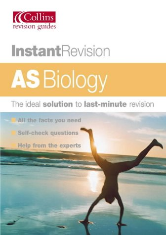 9780007172665: Instant Revision - AS Biology