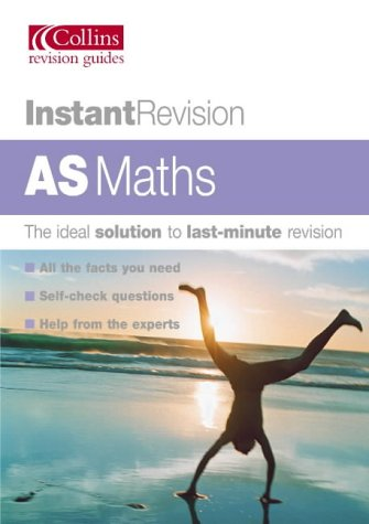 9780007172696: AS MATHS (INSTANT REVISION)