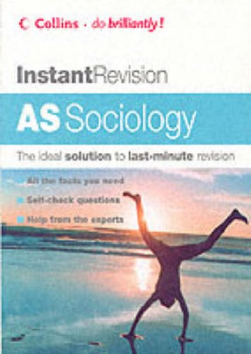 9780007172702: AS Sociology (Instant Revision)