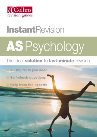 9780007172719: Instant Revision ? AS Psychology