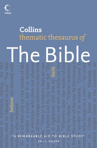 9780007172788: Collins Thematic Thesaurus of the Bible
