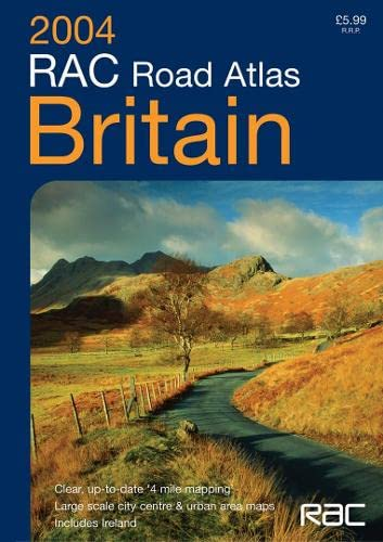 9780007173389: RAC Road Atlas Britain 4 Mile