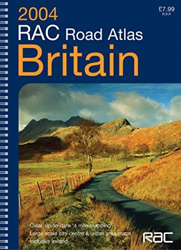 9780007173396: RAC Road Atlas Britain 4 Mile