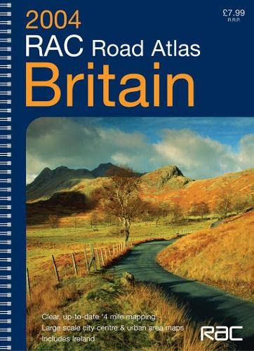 9780007173396: RAC Road Atlas Britain 4 Mile