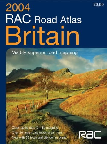 9780007173402: RAC Road Atlas Britain