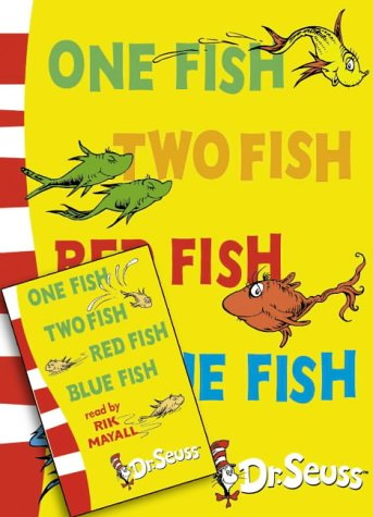 9780007173686: One Fish, Two Fish, Red Fish, Blue Fish (Book & Tape)