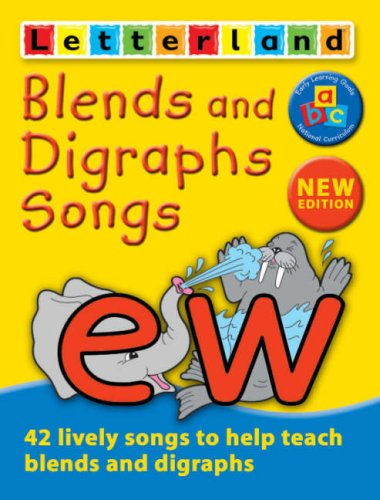 9780007173815: Letterland - Blends and Digraphs Songs Cassette