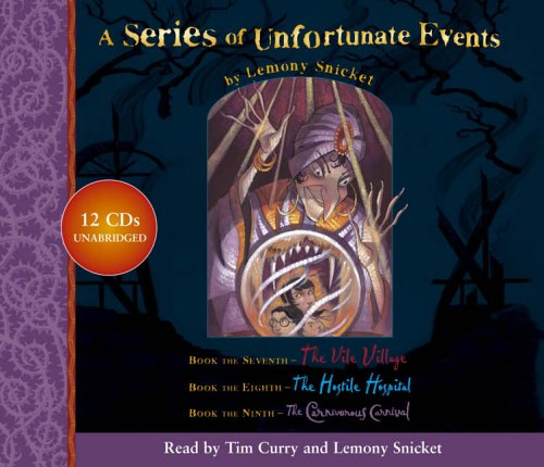 9780007174348: A Series of Unfortunate Events - Lemony Snicket Gift Pack: 7-9: