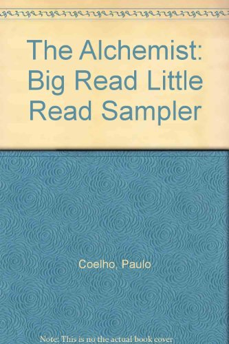 9780007174362: The Alchemist: Big Read Little Read Sampler