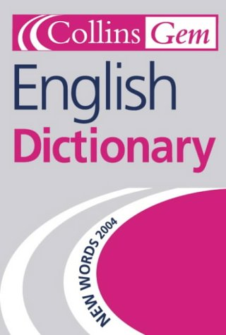 9780007174522: Collins Gem - English Dictionary