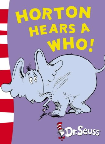 9780007175208: Horton Hears A Who!: Yellow Back Book (Dr Seuss - Yellow Back Book) (Dr. Seuss Yellow Back Books)