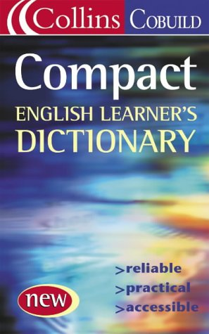 9780007175239: Compact English Dictionary (Collins Cobuild)