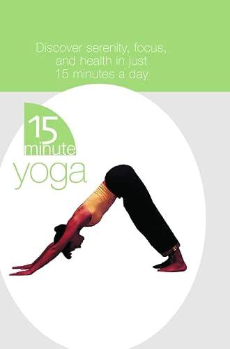9780007175314: 15 Minute Yoga Box
