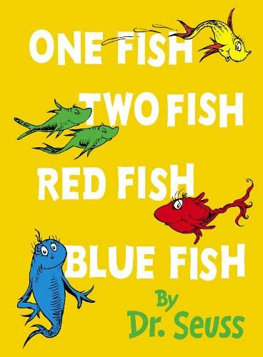 One Fish, Two Fish, Red Fish, Blue: Seuss, Dr.