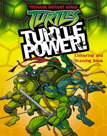 9780007177288: Turtle Power!: Colouring and Drawing Book (