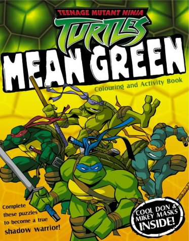 9780007177295: Mean Green: Colouring and Activity Book (