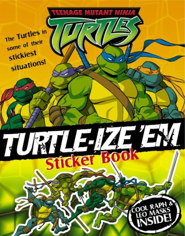 9780007177301: Teenage Mutant Ninja Turtles - Turtle-iz'e 'em Sticker Book: Sticker and Activity Book