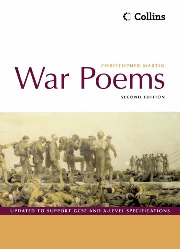 9780007177462: War Poems: Student's book
