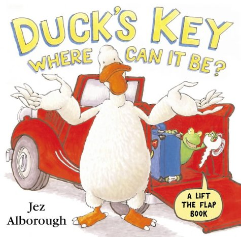 9780007177646: Duck's Key - Where Can It Be?: Flap Book (Lift the Flap)