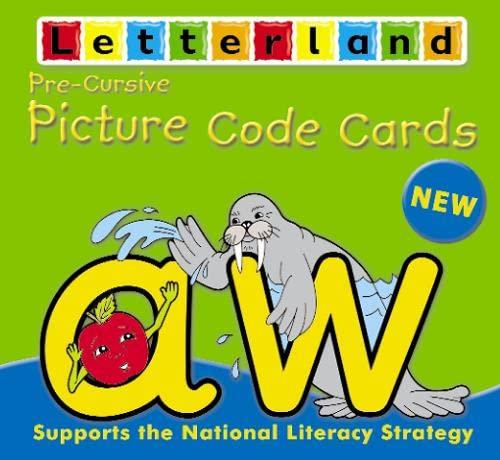 9780007177783: Precursive Picture Code Cards (Letterland)