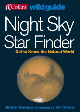 9780007177912: Night Sky Star Finder (Collins Wild Guide)