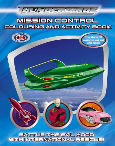 9780007178131: Thunderbirds: Mission Control Colouring and Activity Book
