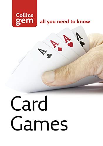 9780007178506: Card Games (Collins Gem)