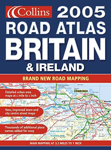 9780007179121: Comprehensive Road Atlas Britain and Ireland 2005