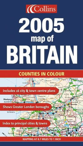 9780007179138: Map of Britain 2005