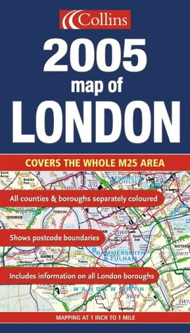 9780007179169: Map of London 2005