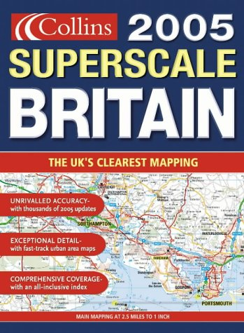 9780007179176: 2005 Superscale Road Atlas Britain and Ireland