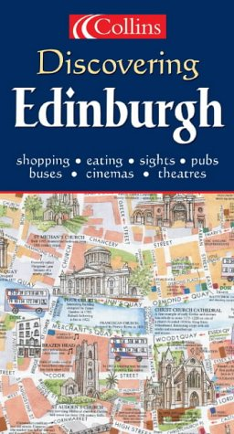 9780007179220: Discovering Edinburgh (Map)