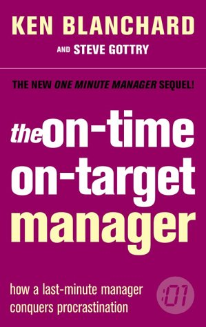 9780007179237: The One Minute Manager - The On-Time, On-Target Manager