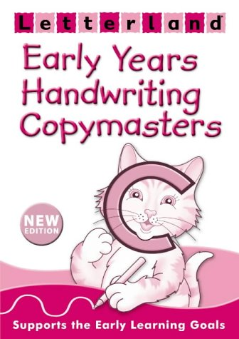 9780007179541: Early Years Handwriting Copymasters (Letterland)