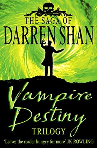 9780007179596: Vampire Destiny Trilogy: Books 10 - 12 (The Saga of Darren Shan)
