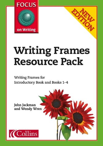 9780007180479: Focus on Writing - Writing Frames Resource Pack