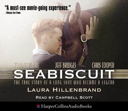 Seabiscuit: The True Story of Three Men and a Racehorse (0007181191) by Hillenbrand, Laura