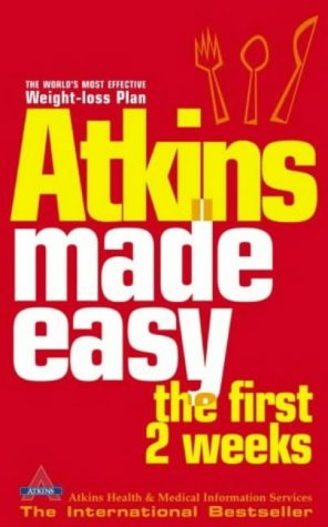 9780007181339: Atkins Made Easy: The First 2 Weeks