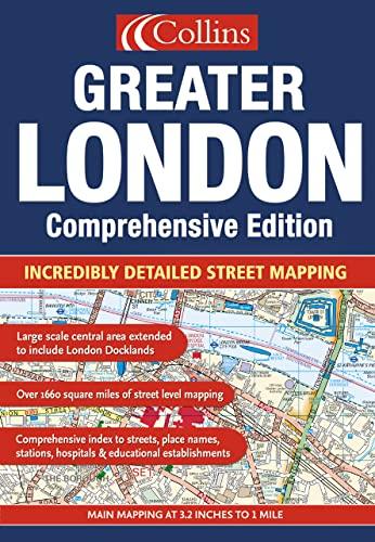 9780007181544: Greater London Street Atlas