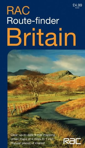 9780007181933: RAC Route Finder Map Britain