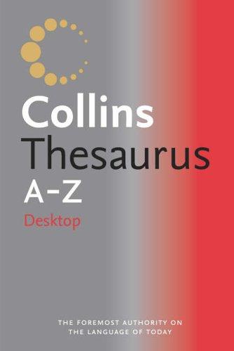 9780007182022: Collins Desktop Thesaurus A-Z